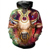 3D All Over Printed Taurus Zodiac T Shirt Hoodie 211207