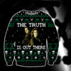 The Truth Is Out There KNITTING PATTERN 3D PRINT UGLY CHRISTMAS SWEATER