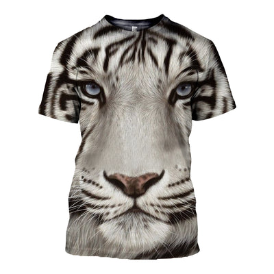 3D All Over Printed Tiger T Shirt Hoodie 51201915