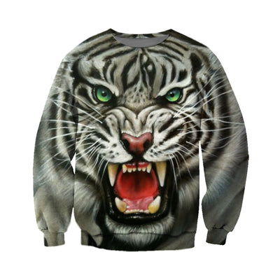 3D All Over Printed Tiger T Shirt Hoodie 51201917