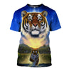 3D All Over Printed Tiger T Shirt Hoodie 5120192