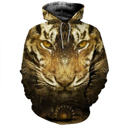 3D All Over Printed Tiger T Shirt Hoodie 51201920