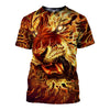 3D All Over Printed Tiger T Shirt Hoodie 51201921