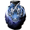 3D All Over Printed Tiger T Shirt Hoodie 51201922
