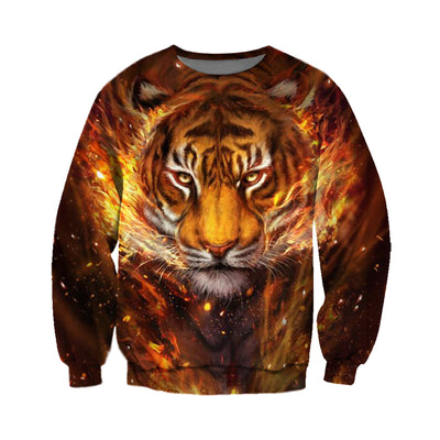 3D All Over Printed Tiger T Shirt Hoodie 5120193