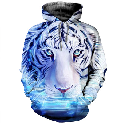 3D All Over Printed Tiger T Shirt Hoodie 5120198