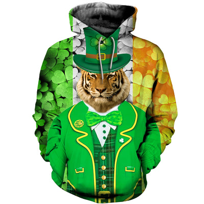 3D All Over Printed Tiger Patrick T Shirt Hoodie 2222019