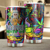 OLD HIPPIES NEVER DIE TUMBLER