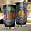 HIPPIE PEACE LOVE TUMBLER