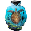 3D All Over Printed Turtle T Shirt Hoodie 1212