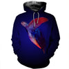 3D All Over Printed Turtle T Shirt Hoodie 12121