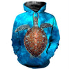 3D All Over Printed Turtle T Shirt Hoodie 12127