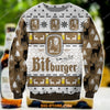 BITBURGER KNITTING PATTERN 3D PRINT UGLY CHRISTMAS SWEATER