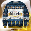 MODELO ESPECIAL KNITTING PATTERN 3D ALL OVER PRINT UGLY CHRISTMAS SWEATER