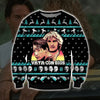 Point Break KNITTING PATTERN 3D PRINT UGLY CHRISTMAS SWEATER