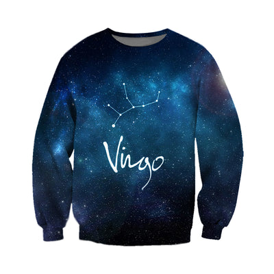 3D All Over Printed Virgo Zodiac T Shirt Hoodie 261201