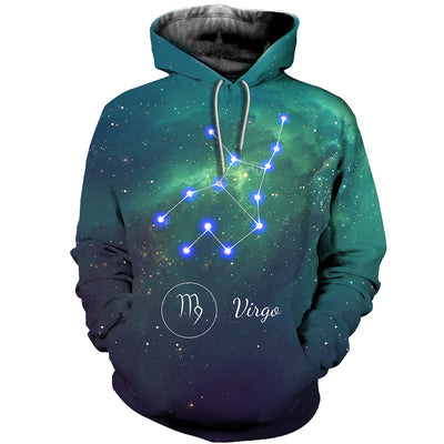 3D All Over Printed Virgo Zodiac T Shirt Hoodie 261202