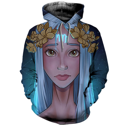 3D All Over Printed Virgo Zodiac T Shirt Hoodie 261207