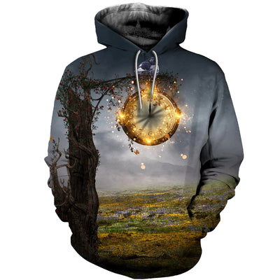 3D All Over Printed Clock T Shirt Hoodie 19220192