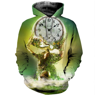 3D All Over Printed Clock T Shirt Hoodie 19220196