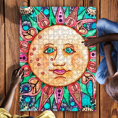 HIPPIE WONDERFUL & FABULOUS SUN Hippie Puzzle 23062020