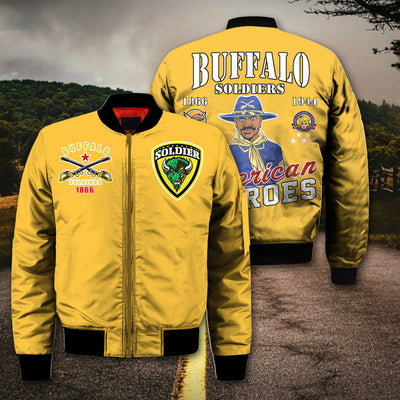 3D ALL OVER PRINT BUFFALO SOLDIERS CLOTHING 3062020