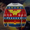 Wonder Woman KNITTING PATTERN 3D PRINT UGLY CHRISTMAS SWEATER