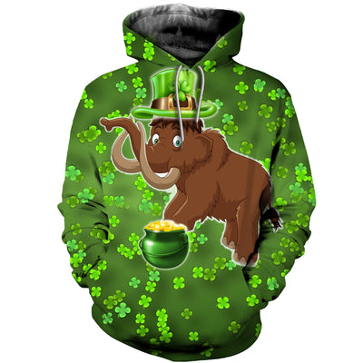 3D All Over Printed mammoth Patrick T Shirt Hoodie 2522019