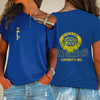 SIGMA GAMMA RHO ONE SHOULDER SHIRT 2432020