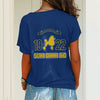 SIGMA GAMMA RHO ONE SHOULDER SHIRT 24320203