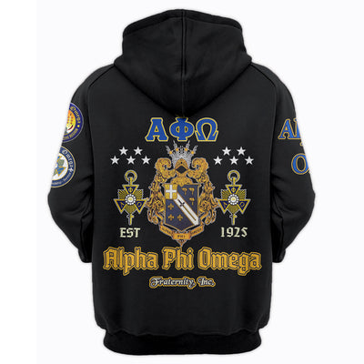 3D ALL OVER PRINT ALPHA PHI OMEGA CLOTHING 07072020