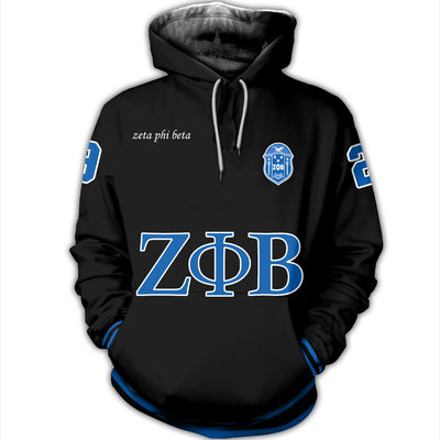 3D FULL OVER PRINTED ZETA PHI BETA CLOTHES 3172019