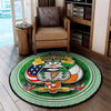 ANCIENT ORDER OF HIBERNIANS ROUND CARPET