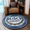 Busch Light Beer ROUND CARPET 1372020