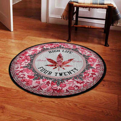HIGH LIFE FOUR TWENTY HIPPIE ROUND CARPET