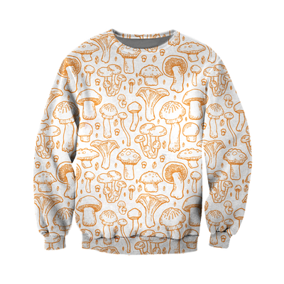 3D All Over Printed Mushroom T Shirt Hoodie 27220191