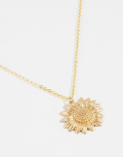BOHEMIAN FLOWER LONG CHAIN NECKLACE FOR WOMEN
