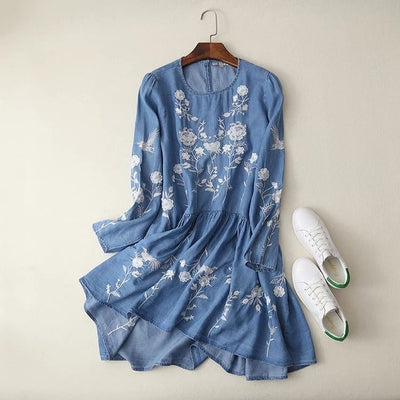 FLORAL SUMMER DRESS FOR WOMEN