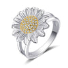 GORGEOUS SUNFLOWER PARTY RING FOR WOMEN AND GIRLS