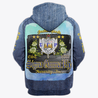 3D FULL OVER PRINTED SIGMA GAMMA RHO CLOTHES 10220201