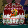 The Simpsons KNITTING PATTERN 3D PRINT UGLY CHRISTMAS SWEATER