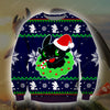 Toothless KNITTING PATTERN 3D PRINT UGLY CHRISTMAS SWEATER