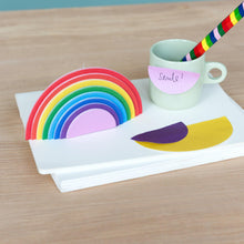 Charger l'image dans la galerie, Notes collantes Arc-en-ciel-Rex London-Fournitures pour enfant