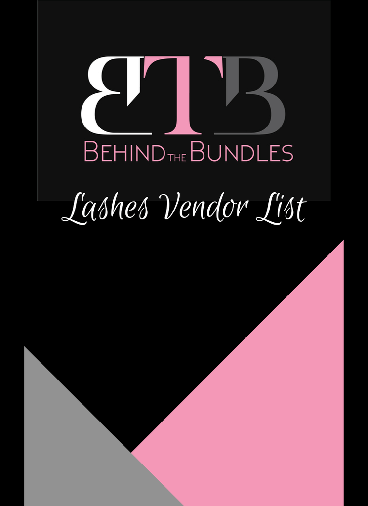 Lashes Vendor List