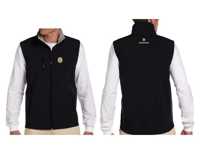 Devon & Jones Black Soft Shell Vest