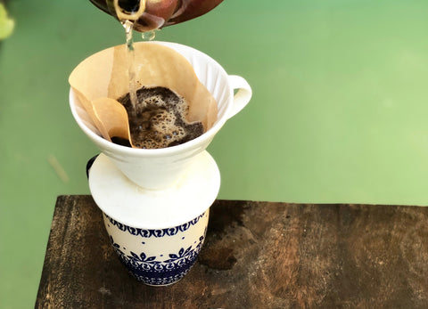 Pour Over Ceramic Drip Coffee | Bearcat Coffee
