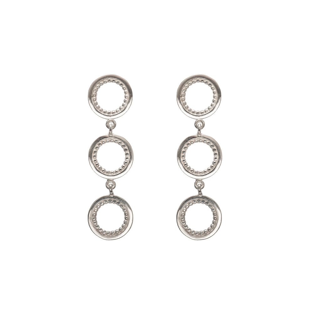 Mini Meridian Tri-Earrings