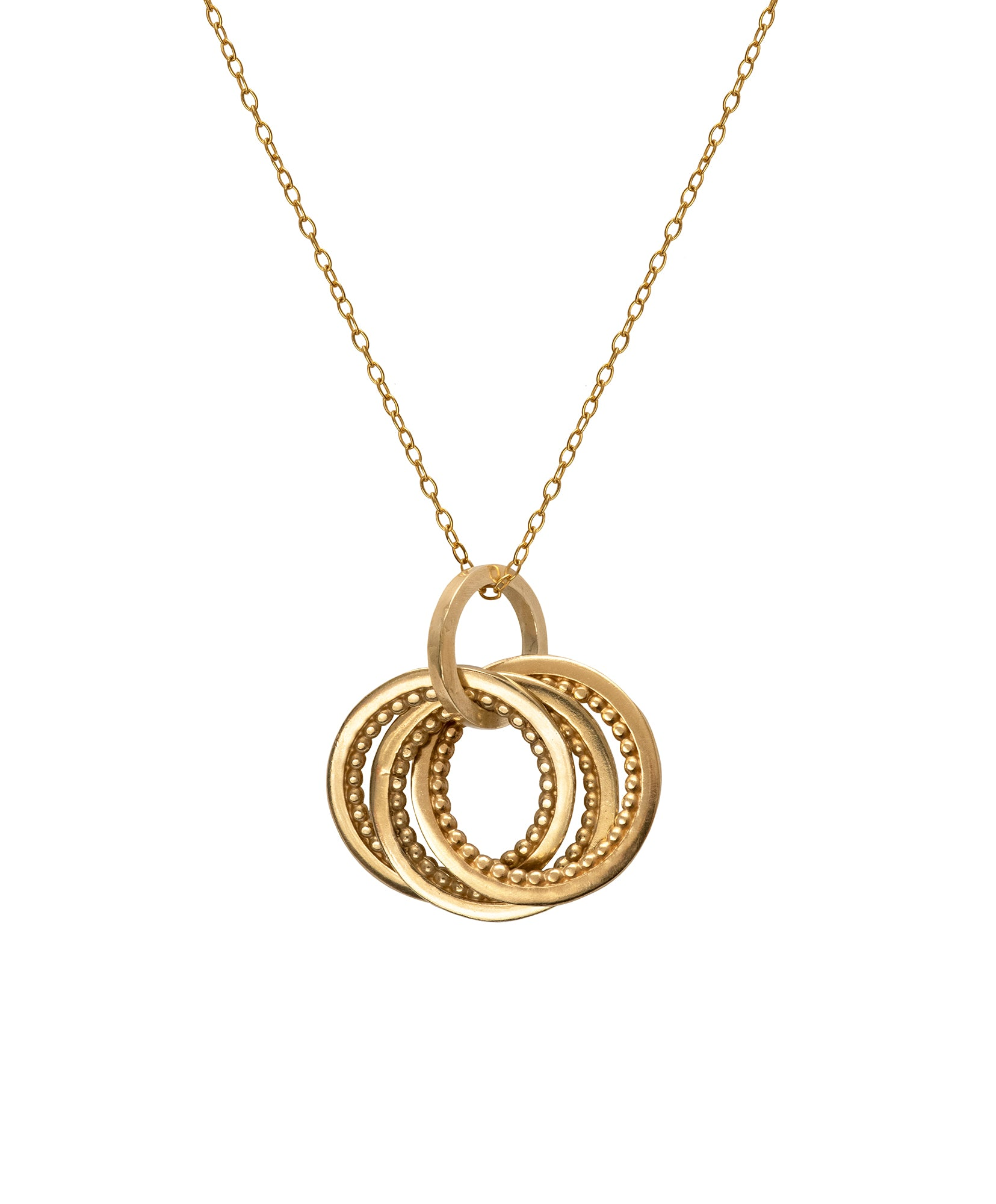 Intertwining Meridian Necklace