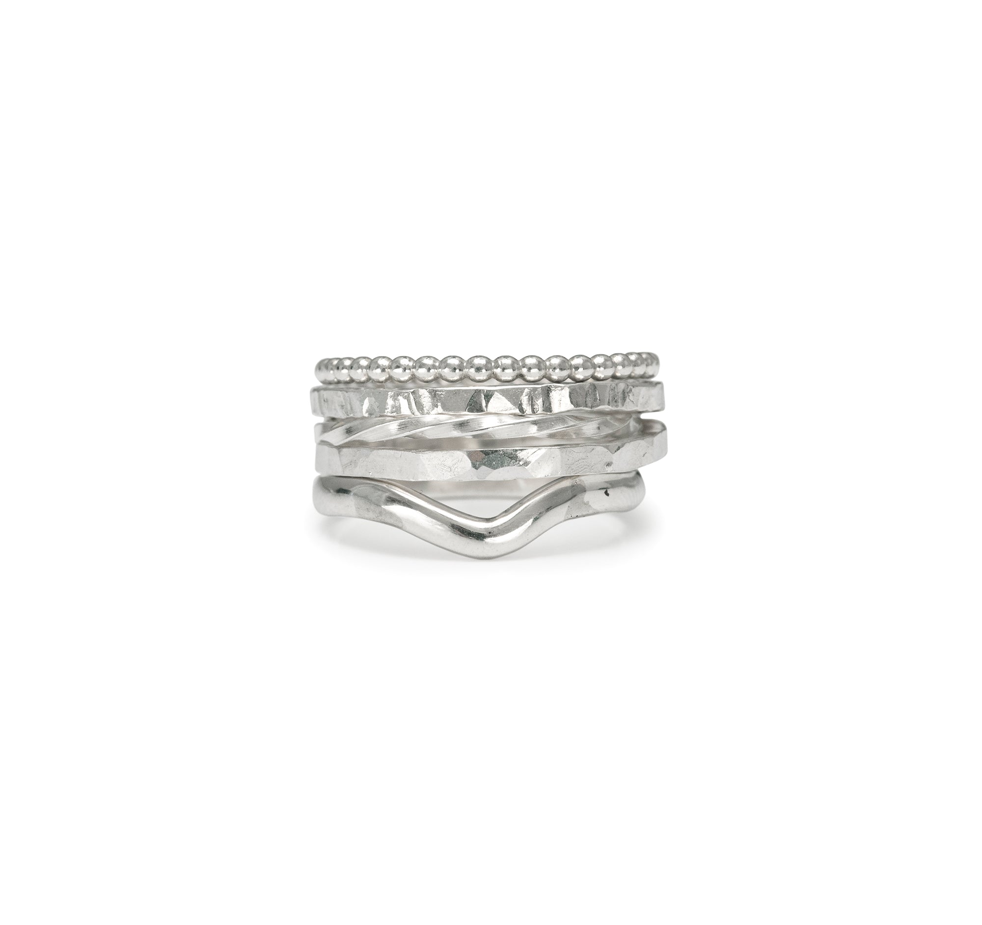 The Twisted Stacking Ring