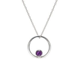 The Ember Necklace - Amethyst